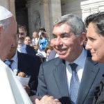 El expresidente Arias se reunió con el Papa Francisco