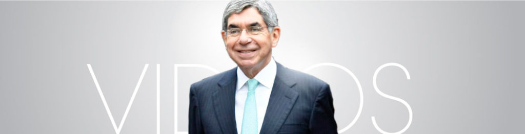 Oscar Arias Sánchez - Videos